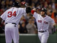 The Sox spent less improving Fenway and beat the Yanks, too.
